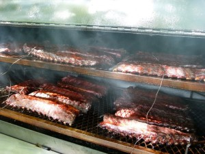 Doesn't the smoke give these ribs a magical look?
